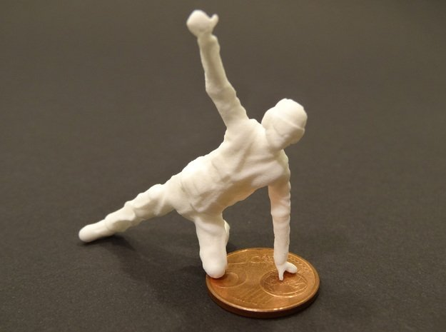 32-H0072: Carrier catapult 2 or 4 crew scale 1:32 in White Processed Versatile Plastic