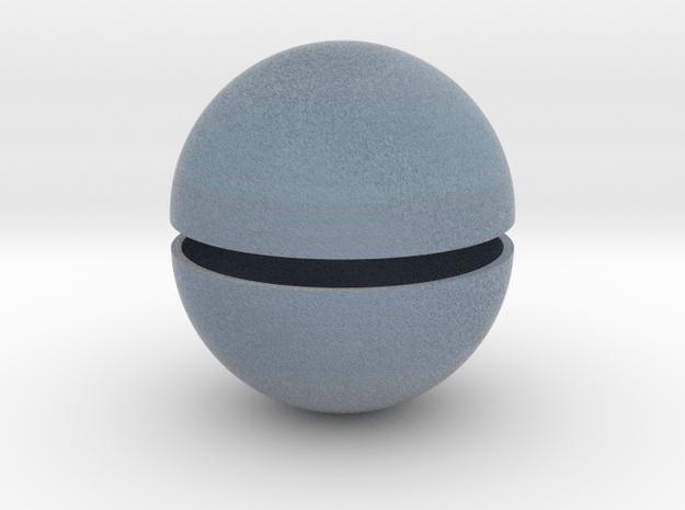 Uranus (Bifurcated) in Full Color Sandstone