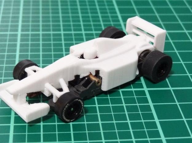 HO formula 1 1993 in White Processed Versatile Plastic