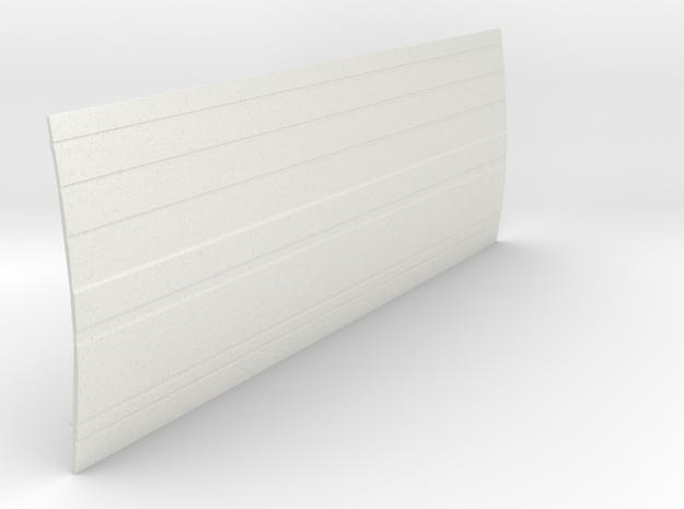 Mercedes Benz Dusseldorfer side section LHS in White Natural Versatile Plastic