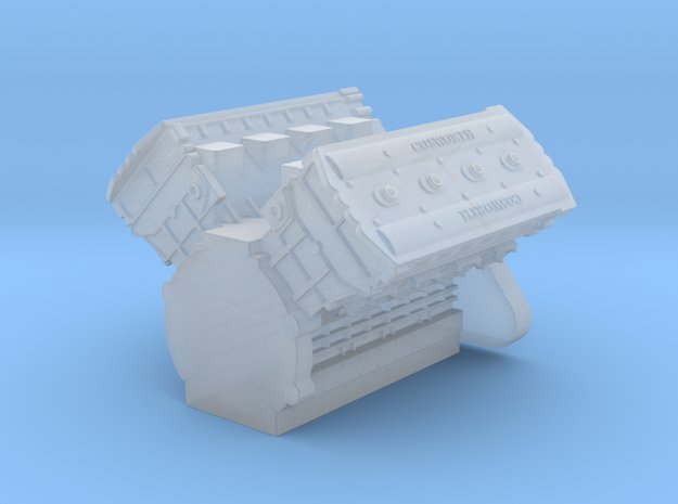 F1 Cosworth 1-24 scale in Smooth Fine Detail Plastic