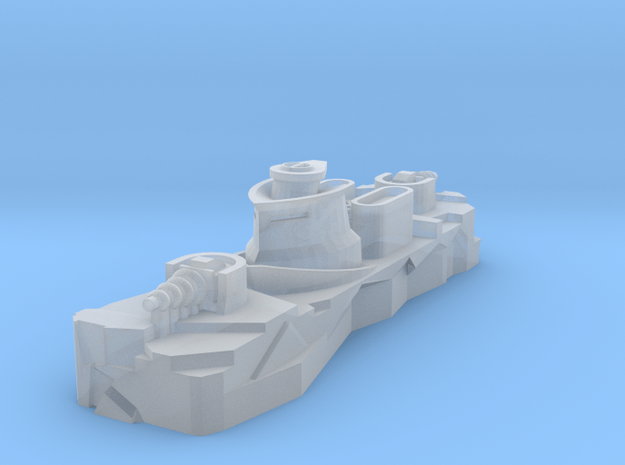 Pilger Class Frigate in Smooth Fine Detail Plastic