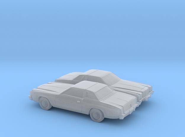 1/160 2X 1978-79 Chrysler Cordoba in Smooth Fine Detail Plastic