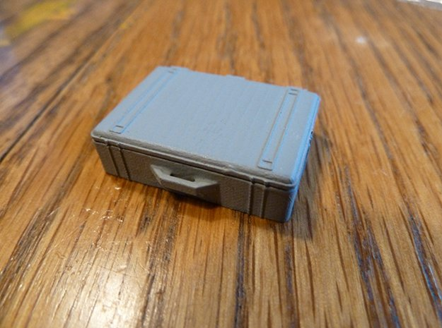Pelican Case Complete in Smooth Fine Detail Plastic