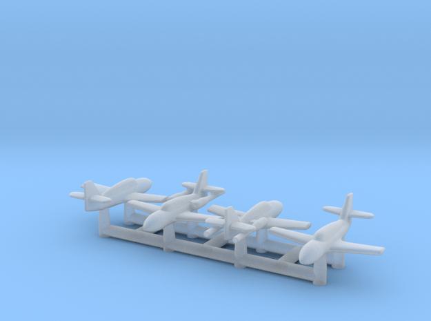 (1:700) Messerschmitt (2x Me 328 B + 2x Me 328 V1)