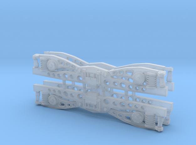 Draaistel DE1 (asafstand 18,8 mm) in Smoothest Fine Detail Plastic