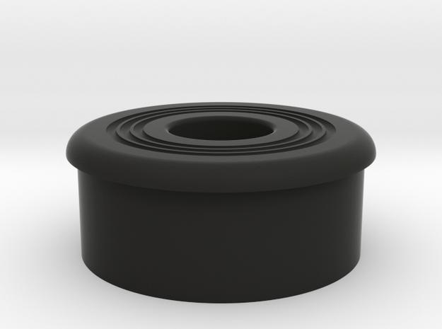 MPP Endcap Plug in Black Natural Versatile Plastic