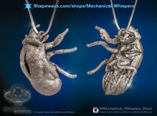 Cicada Nymph Molt Pendant