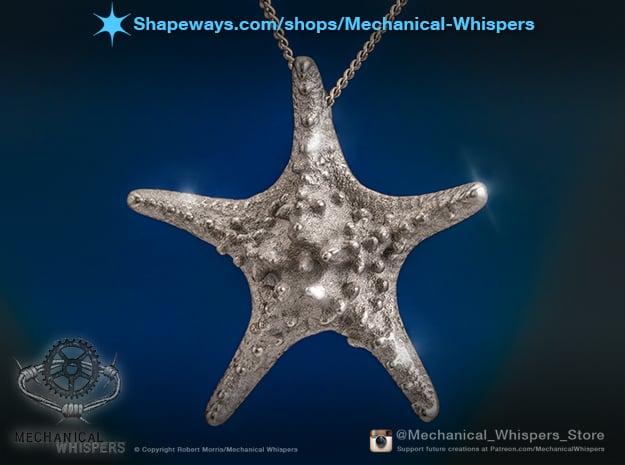 Knobby Starfish Pendant