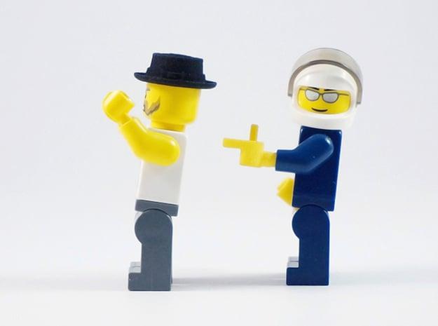 Pistol Hand in Yellow Processed Versatile Plastic