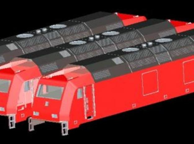 Traxx Multi Engine 1/220 Z 3x in Smooth Fine Detail Plastic