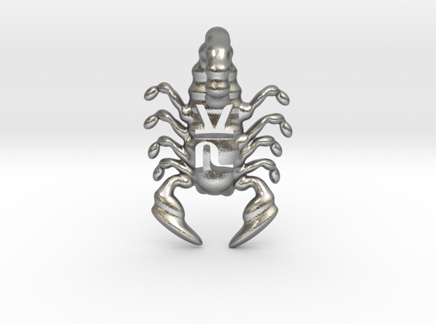 The Parallelkeller scorpio v02 in Natural Silver