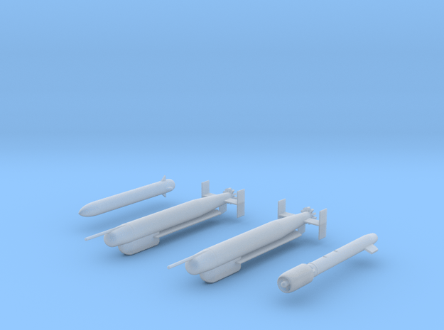 Buccaneer H-2 Raptor Weapon Pack in Smooth Fine Detail Plastic: 1:72