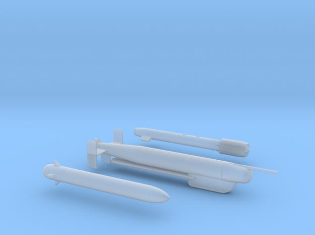 Mirage F1 AZ H2 Raptor Weapon Pack in Smooth Fine Detail Plastic: 1:72