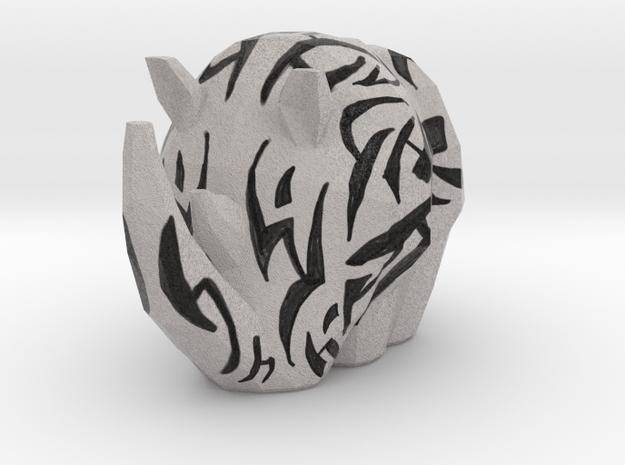 Textured Rhino in Full Color Sandstone: Small