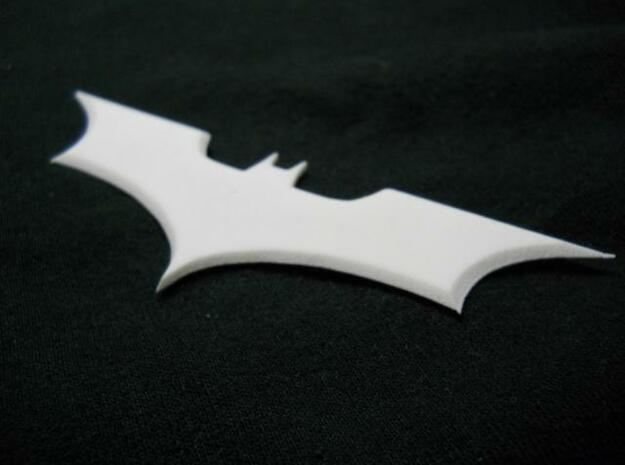 Batarang in Smooth Fine Detail Plastic