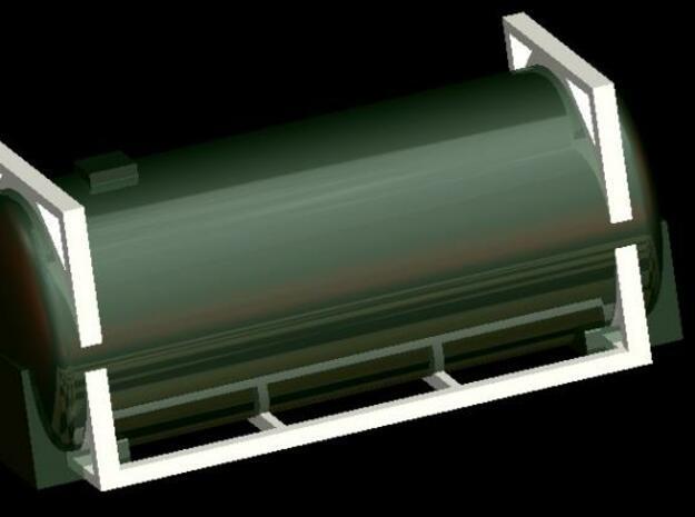 Biertankcontainer 6Stück 1:220 Spur Z in Smooth Fine Detail Plastic