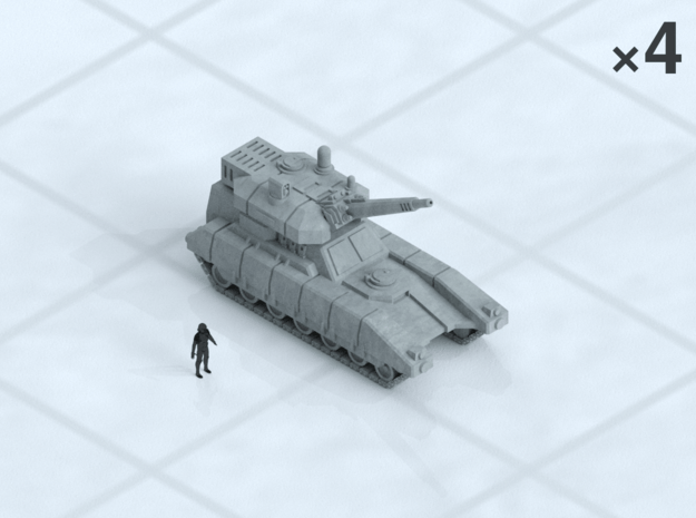 6mm Mobile Artillery (4)