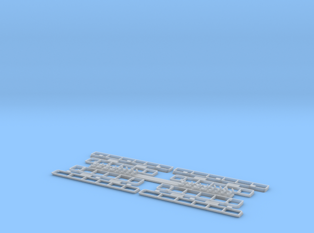 1:35 T-34 Grills Late for Dragon in Smooth Fine Detail Plastic