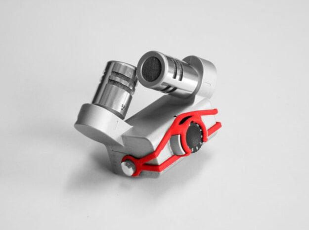 ZOOM h6 Capsule Gain control cover in Red Processed Versatile Plastic