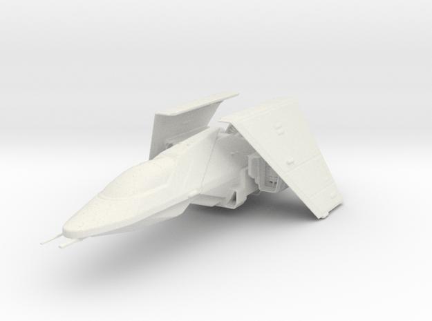 Warbird Fighter in White Natural Versatile Plastic