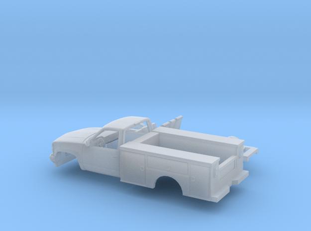 1/160 1990-98 Chevrolet Silverado Reg Cab Utility in Smooth Fine Detail Plastic