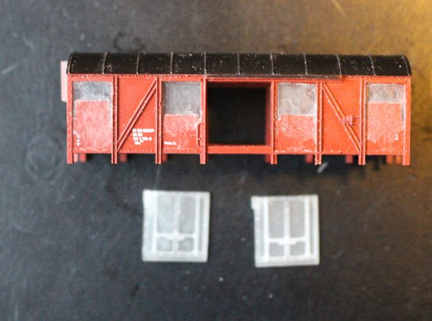 Kit for N scale DSB Iblps Mayo