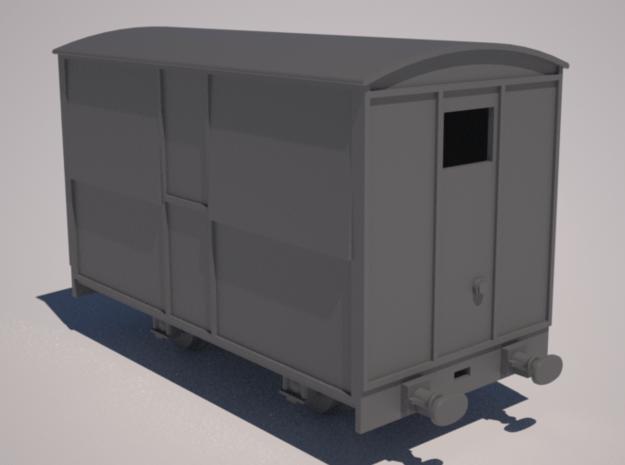 009 Talyllyn Rly Tea Van (closed) in Smooth Fine Detail Plastic