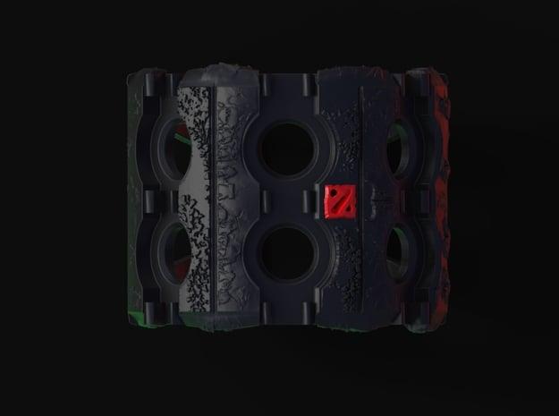 Dota2 Power Bracelet (Fits Orbs) in Black Natural Versatile Plastic