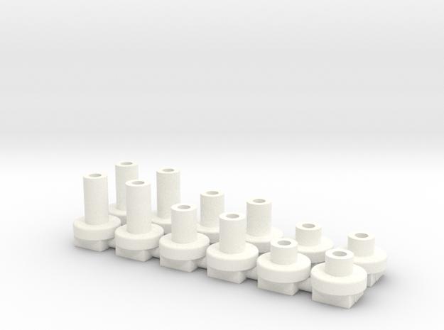 topes de H4x 2, 4 y 6mm