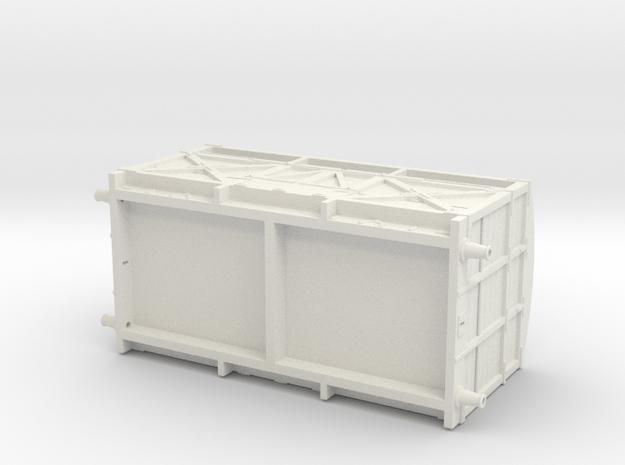 Furness/LMS/BR Medium Cattle van  in White Natural Versatile Plastic