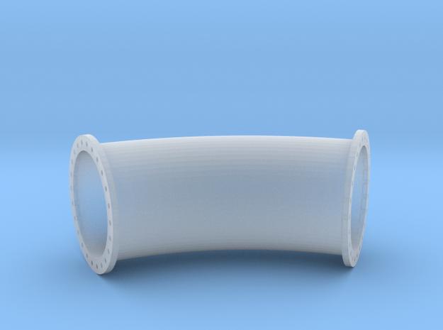 Rohrleitung 1000mm 45Grad R3000 - TT 1:120 in Smooth Fine Detail Plastic