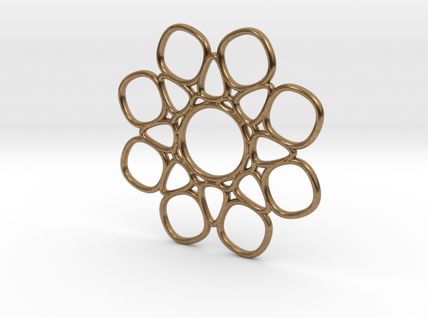 4d3  in Natural Brass