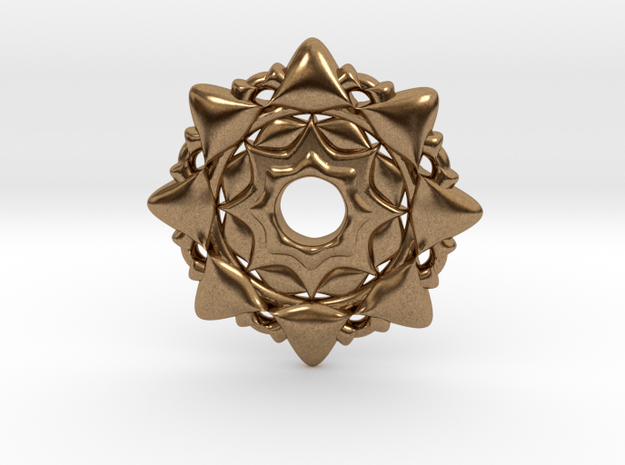 4d7 in Natural Brass