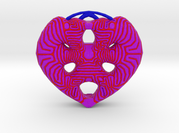 Heart2 in Full Color Sandstone