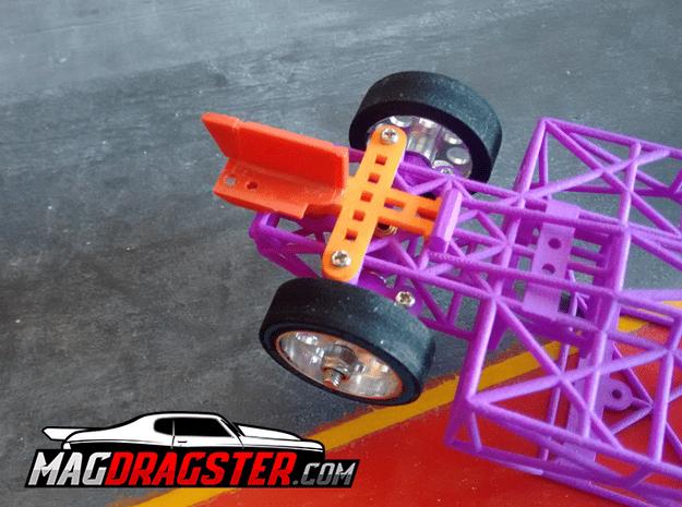 MagDragster Slot Guide Mount in Orange Processed Versatile Plastic