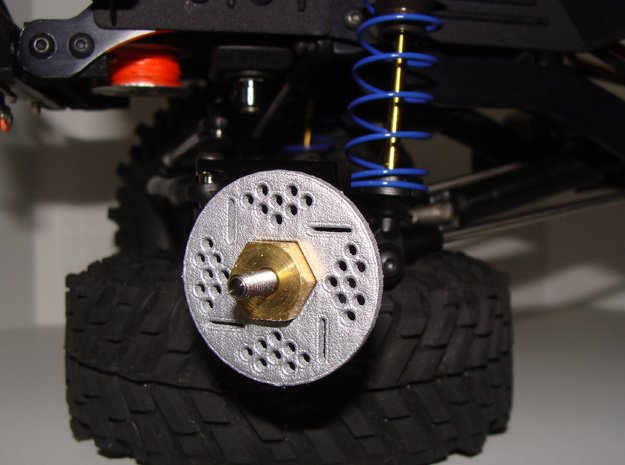 Brake Rotor Set (34mm diameter) in White Processed Versatile Plastic