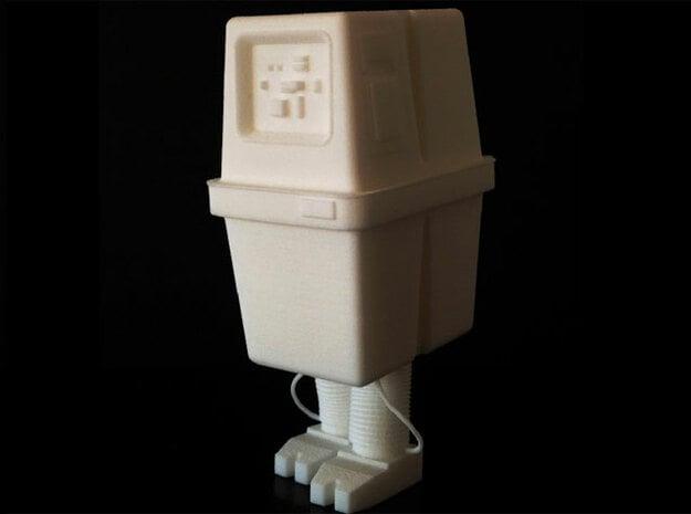 "Gonk (3"" tall) in White Natural Versatile Plastic"
