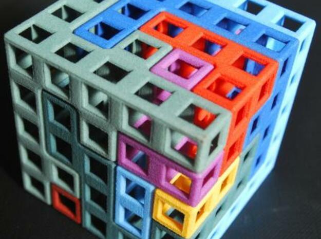 Switch cube 5cm open in White Natural Versatile Plastic