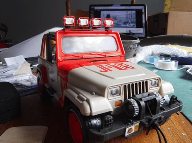 Mattel Light Bar in White Natural Versatile Plastic