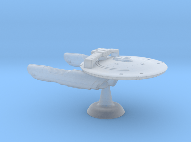 Terran Concord MkII Frigate-1:7000 in Smooth Fine Detail Plastic
