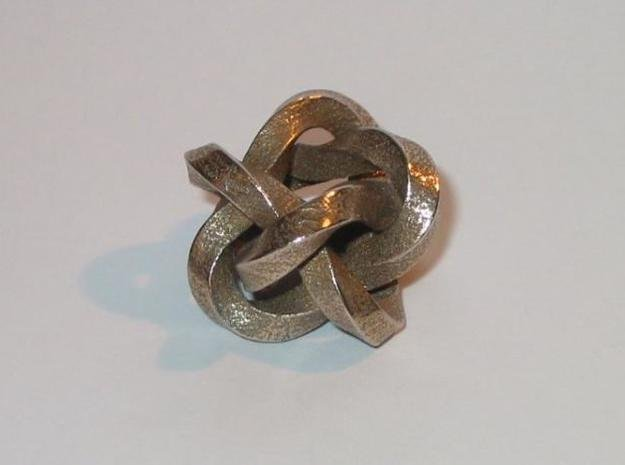 Knot 3 in White Natural Versatile Plastic