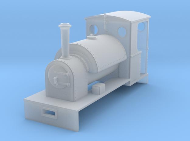 RAR pluto class in Smooth Fine Detail Plastic: 1:43.5