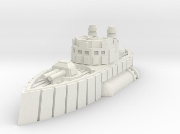 Carlisle Class Heavy Destroyer in White Natural Versatile Plastic