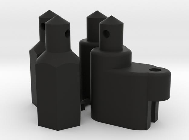 Yokomo ZC-118 Battery Post in Black Natural Versatile Plastic