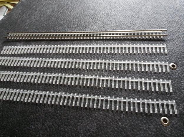 5 X Schwellenjoch Nm  6,5mm Spur in Smooth Fine Detail Plastic