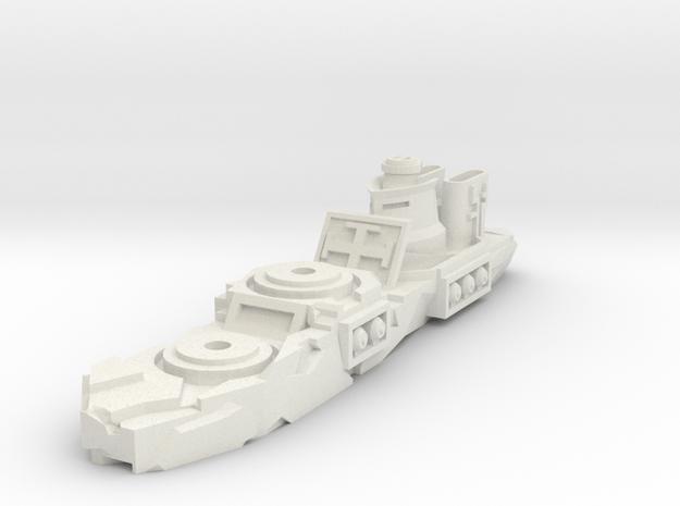 Eisdrache Class Gunship in White Natural Versatile Plastic