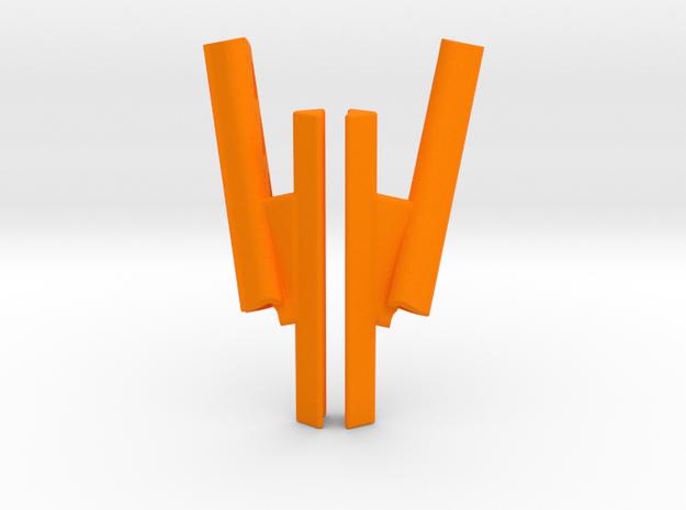Pupil Labs camera arm extender for 120hz and 200hz in Orange Processed Versatile Plastic