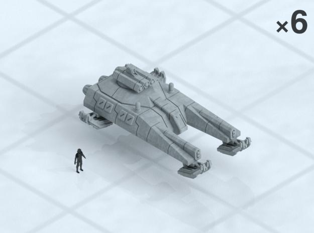 6mm Fast Grav Tanks (6)