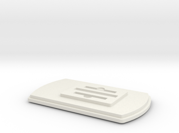 TritTagv3 in White Natural Versatile Plastic